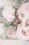 Наклейка на планшет Розы Винтаж