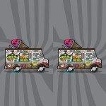 Наклейка на плеер Автобус Мороженщика