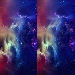 Наклейка на плеер Краски Космоса