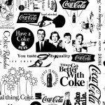 Наклейка на плеер Кока-Кола
