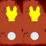 Чехол на телефон Iron Man Флюр