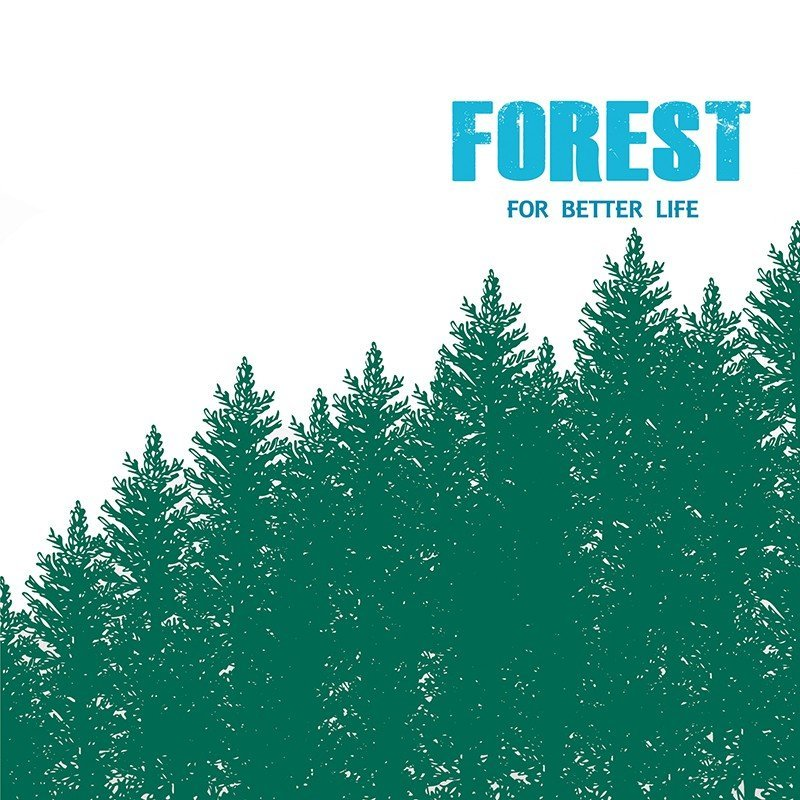 Чехол на телефон Forest For Better