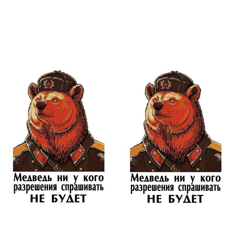 Чехол на телефон Медведь