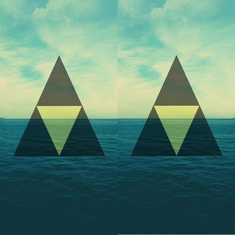 Чехол на телефон Треугольник