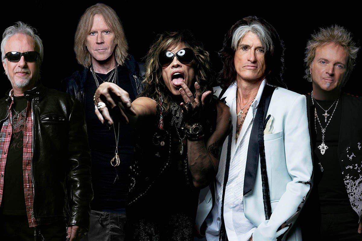 Наклейка на ноутбук Aerosmith