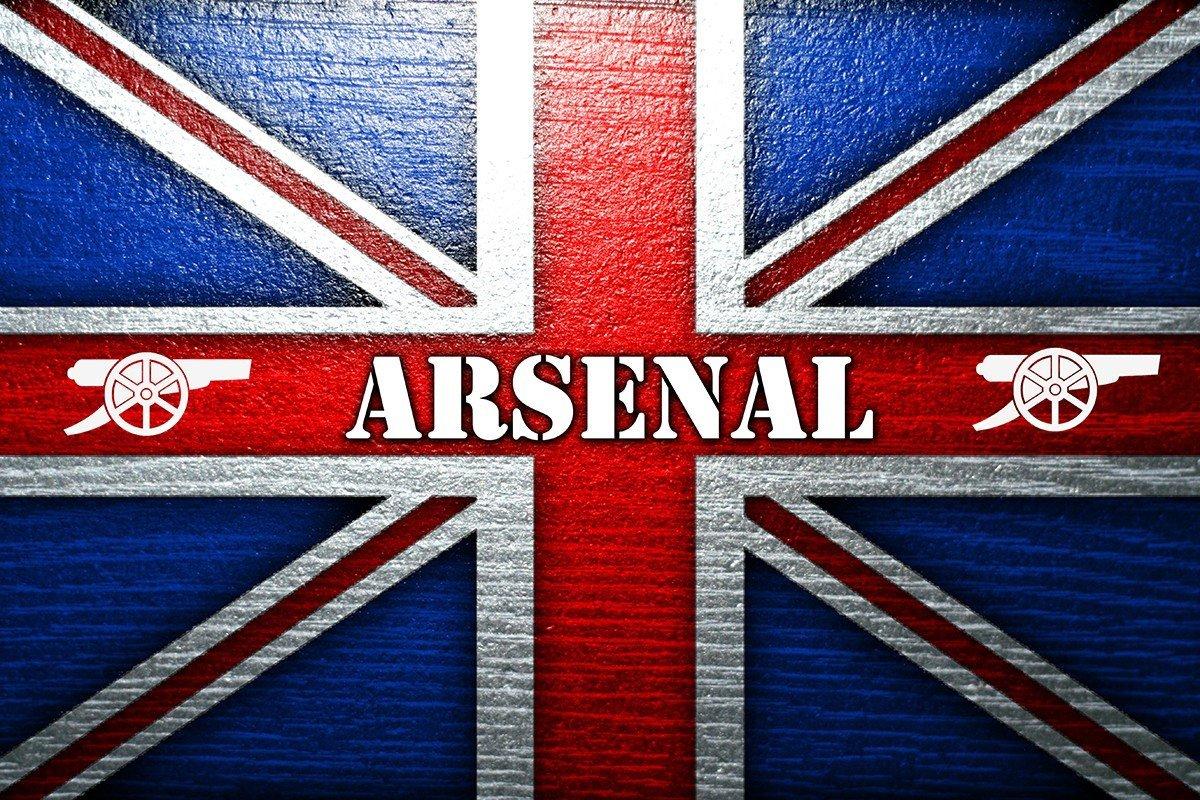 Наклейка на ноутбук Арсенал