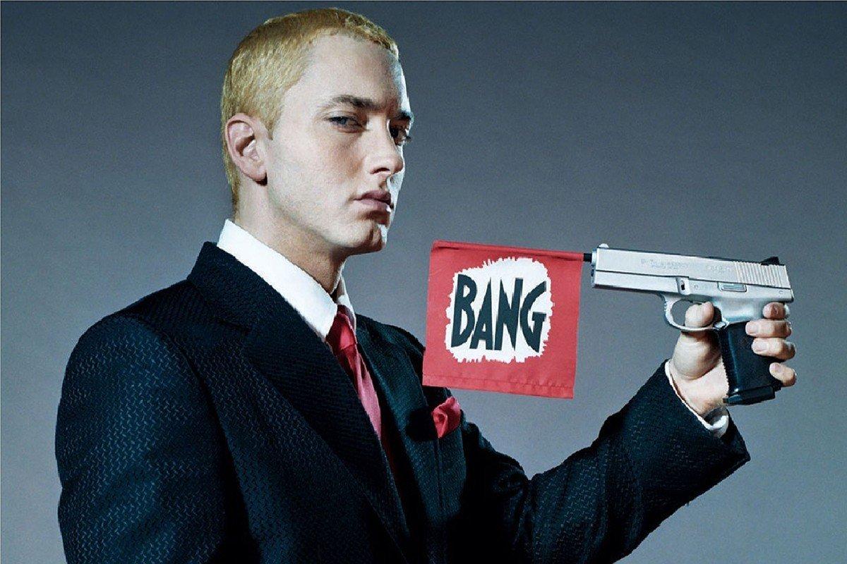 Наклейка на ноутбук Eminem