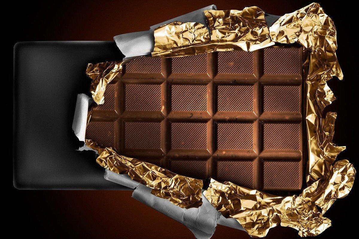 Наклейка на ноутбук Шоколад