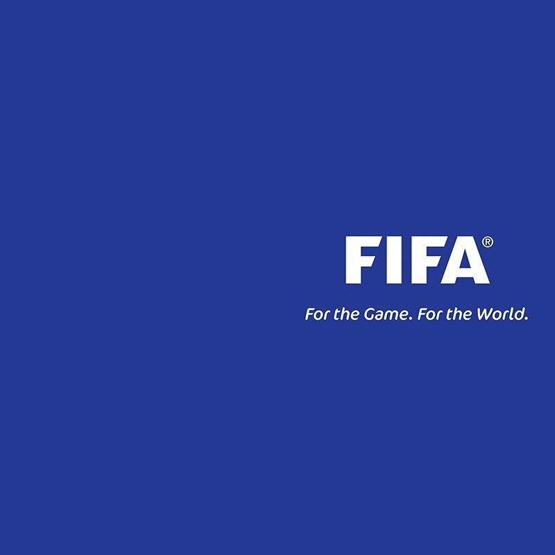Наклейка на телефон FIFA
