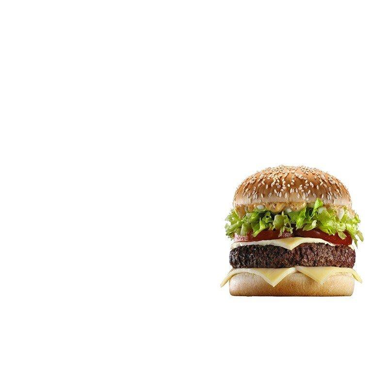 Наклейка на телефон Гамбургер