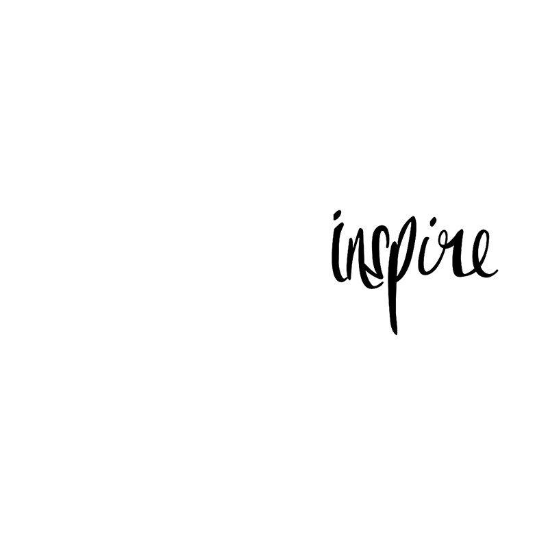 Наклейка на телефон Inspire