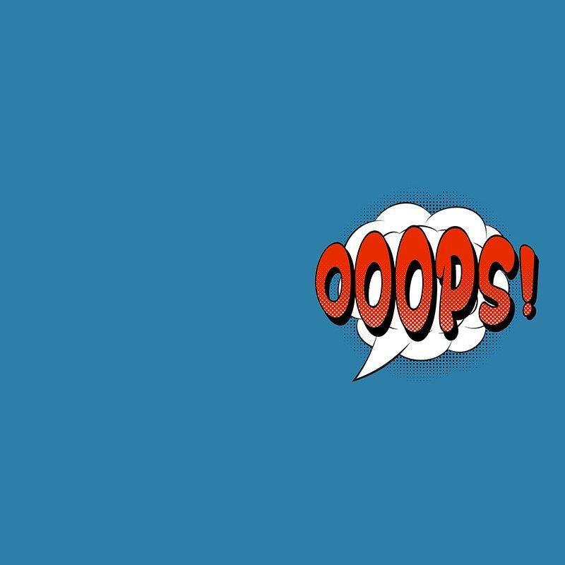 Наклейка на телефон OOOPS