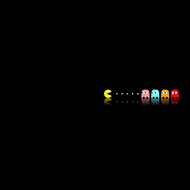 Наклейка на телефон PacMan
