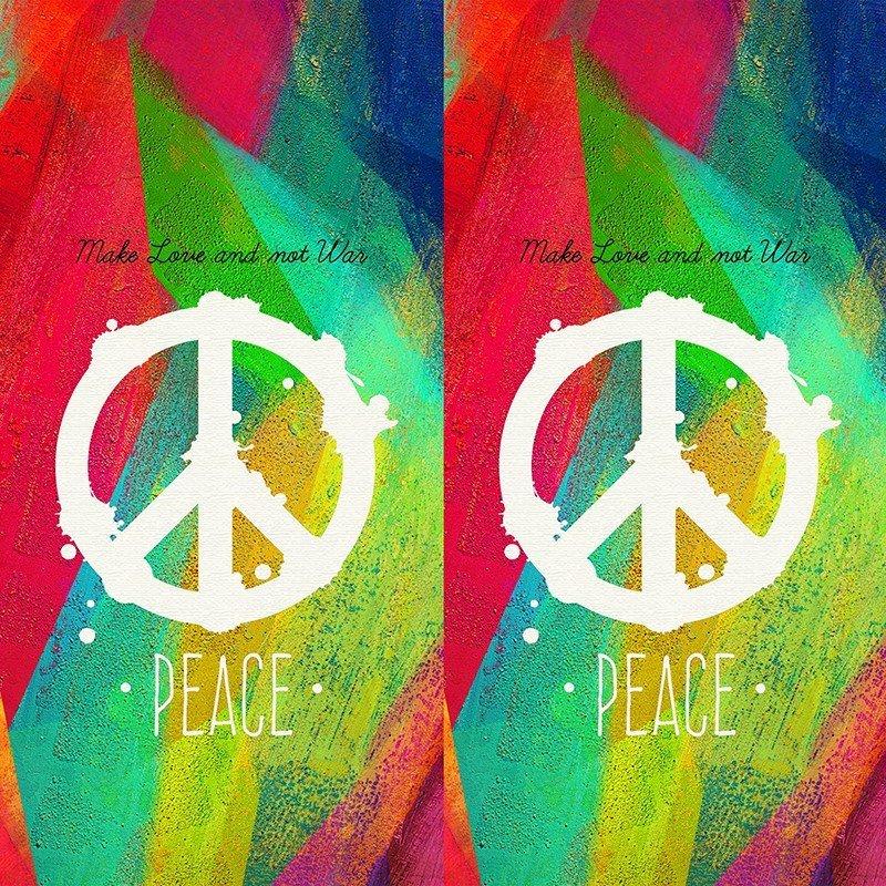 Наклейка на телефон Peace