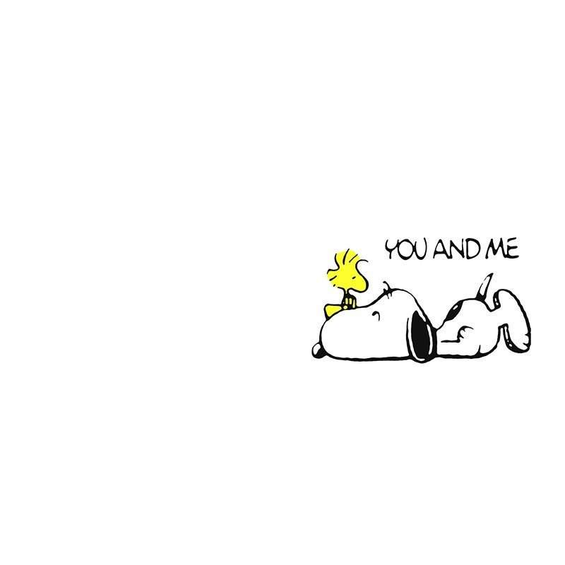Наклейка на телефон Snoopy