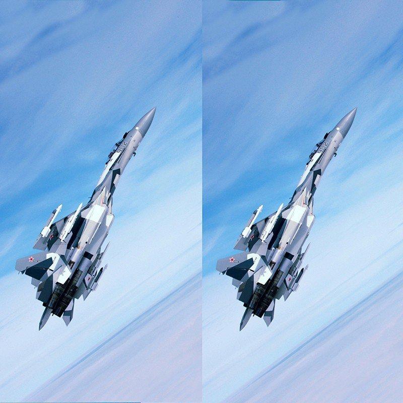 Наклейка на телефон Су-35