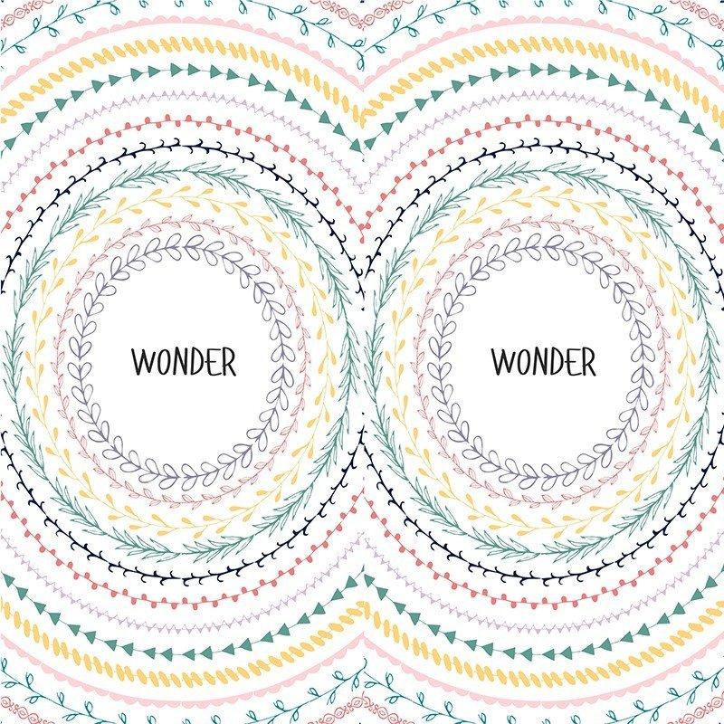 Наклейка на телефон Wonder