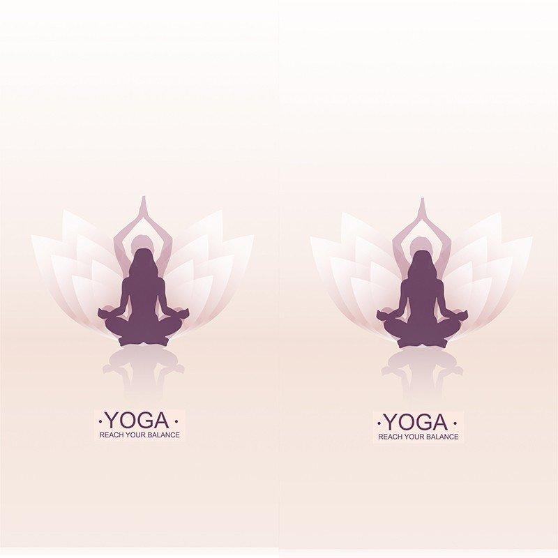 Наклейка на телефон Yoga