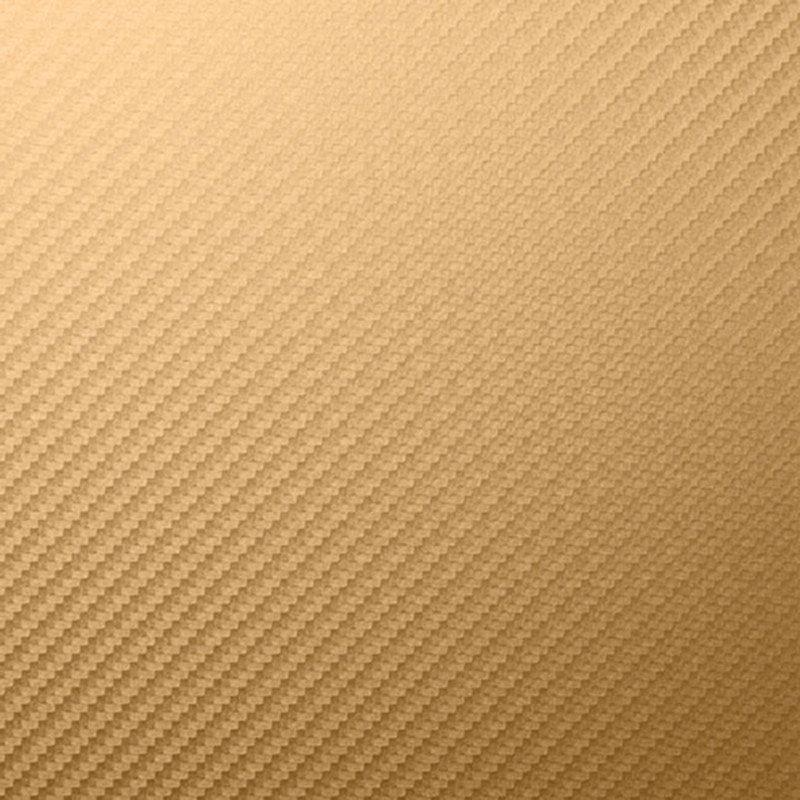 Наклейка на телефон Золотой Карбон
