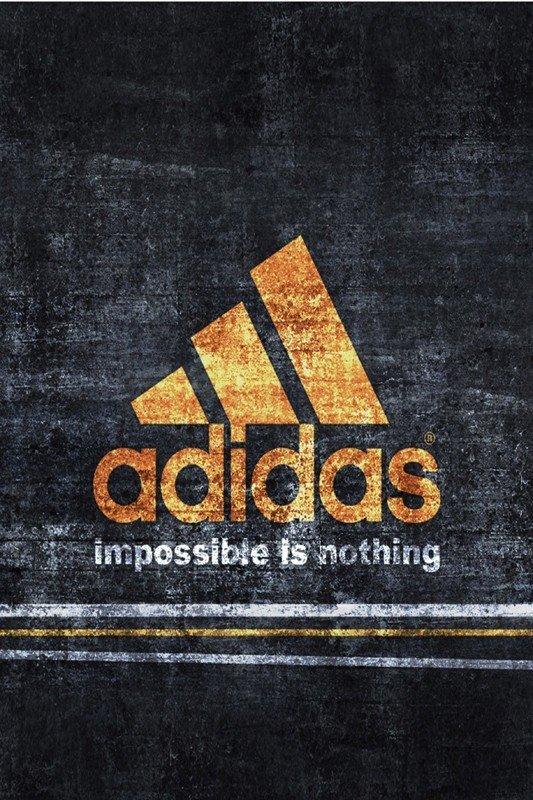Наклейка на планшет Adidas Оранжевый