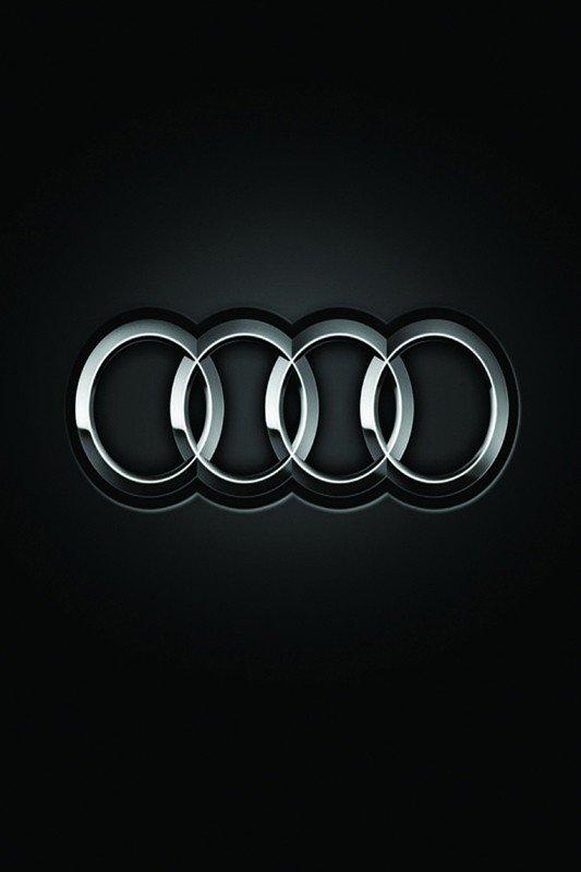 Наклейка на планшет Audi