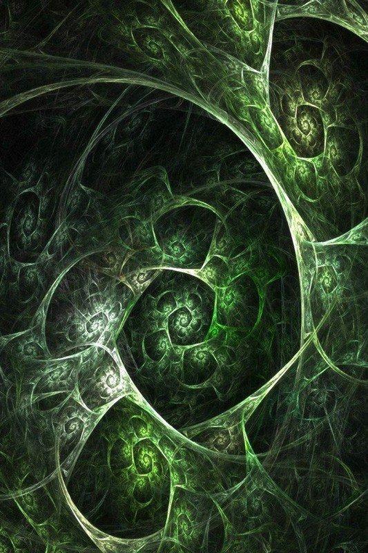 Наклейка на планшет Зеленые Улитки